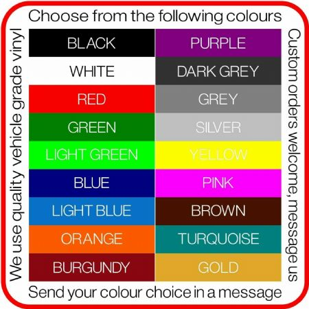 REQUEST SAMPLE COLOURS BEFORE YOU BUY.